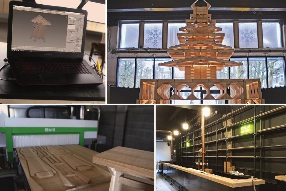 MCB Atelier: Comodu – Des structures durables pour l'aménagement intérieur