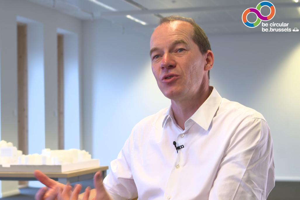 L'économie circulaire au cœur de la ville :  Une interview avec Kristiaan Borret, Bouwmeester – Maitre Architecte