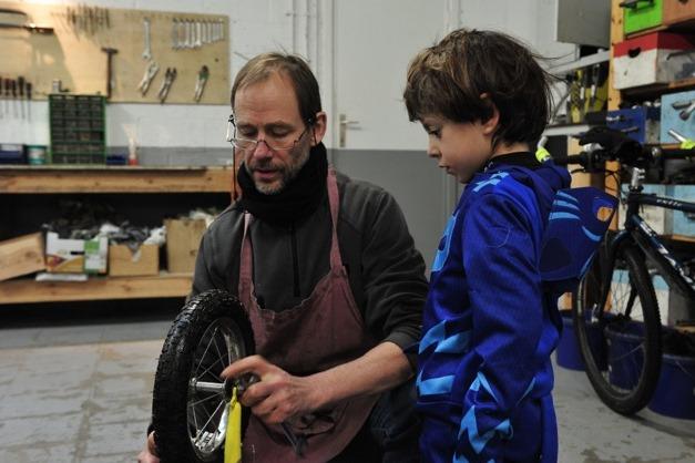 les Ateliers de la rue Voot: Een fiets voor 10 jaar