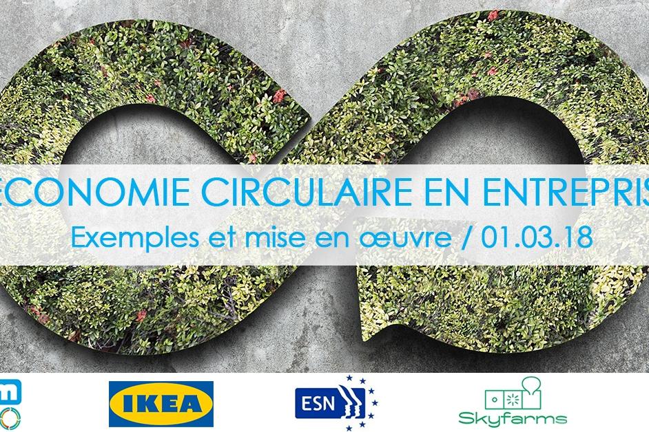 Economie circulaire en entreprise: exemples et mise en oeuvre