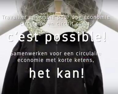 Lokale productie van circulaire jassen, ja het kan!
