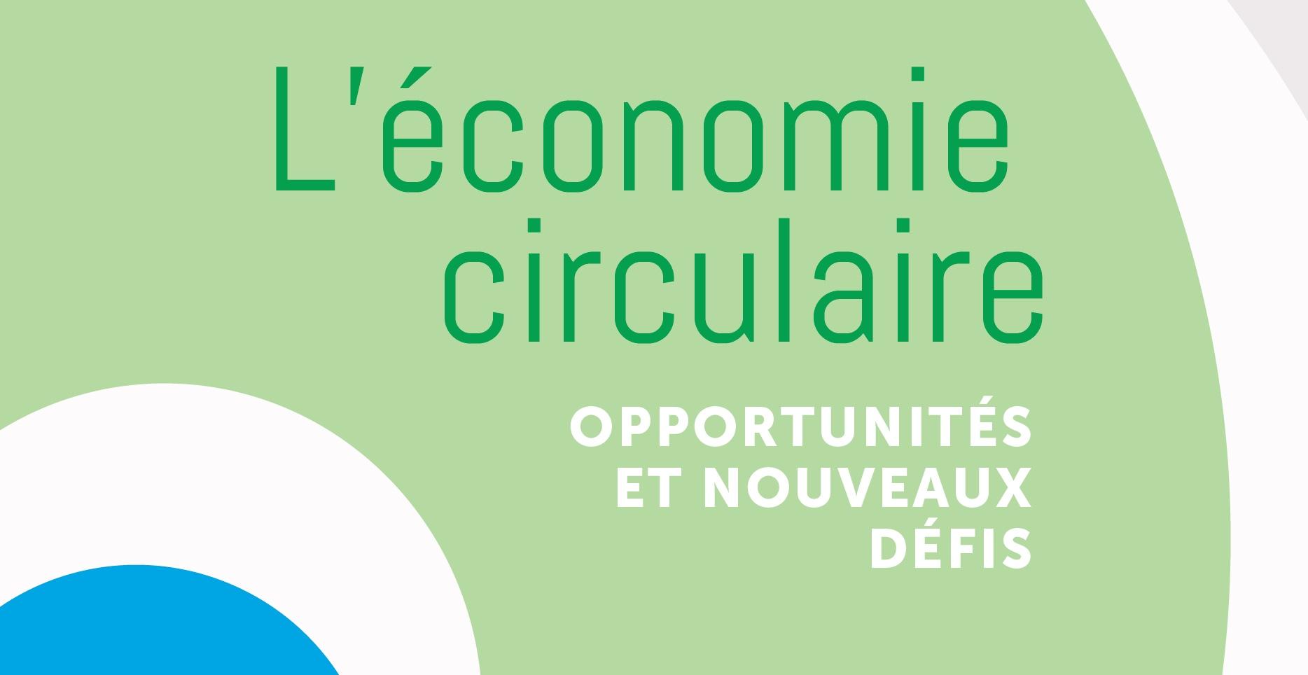 Publication brochure : Défis et Opportunités de l'économie circulaire pour les délégués et militants syndicaux