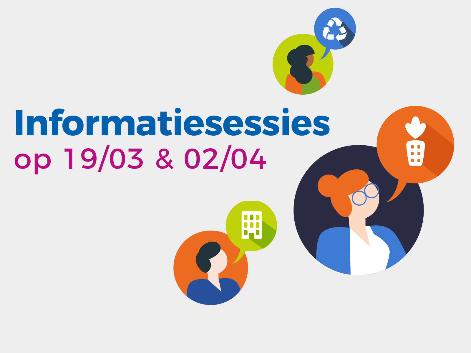 Infosessies projectoproep 2019