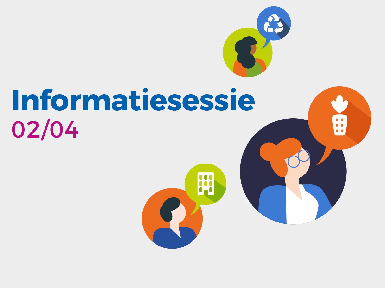 """Informatiesessie en pitch voor de projectoproep """"Be Circular – be Brussels"""""""
