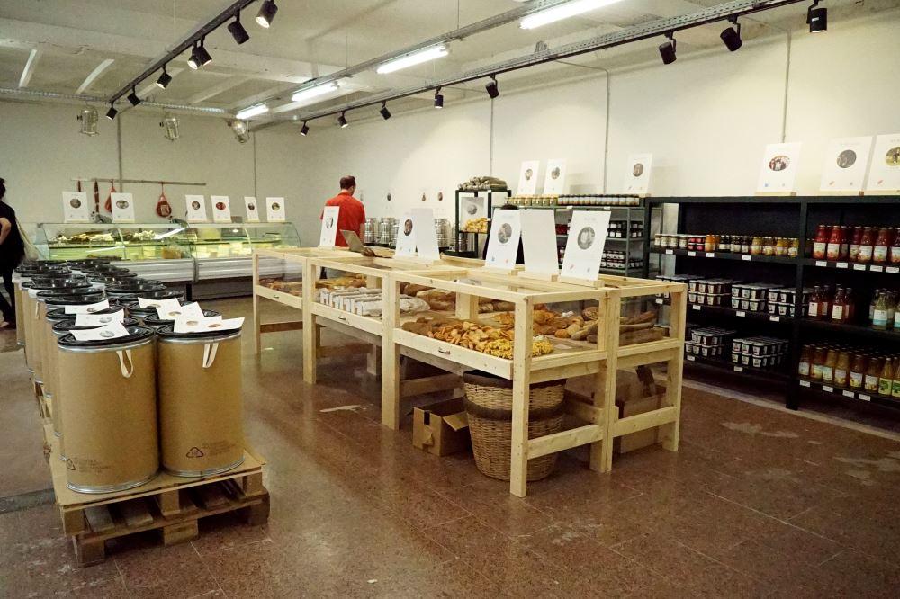 Belgomarkt, phase II, supermarché 100% belge