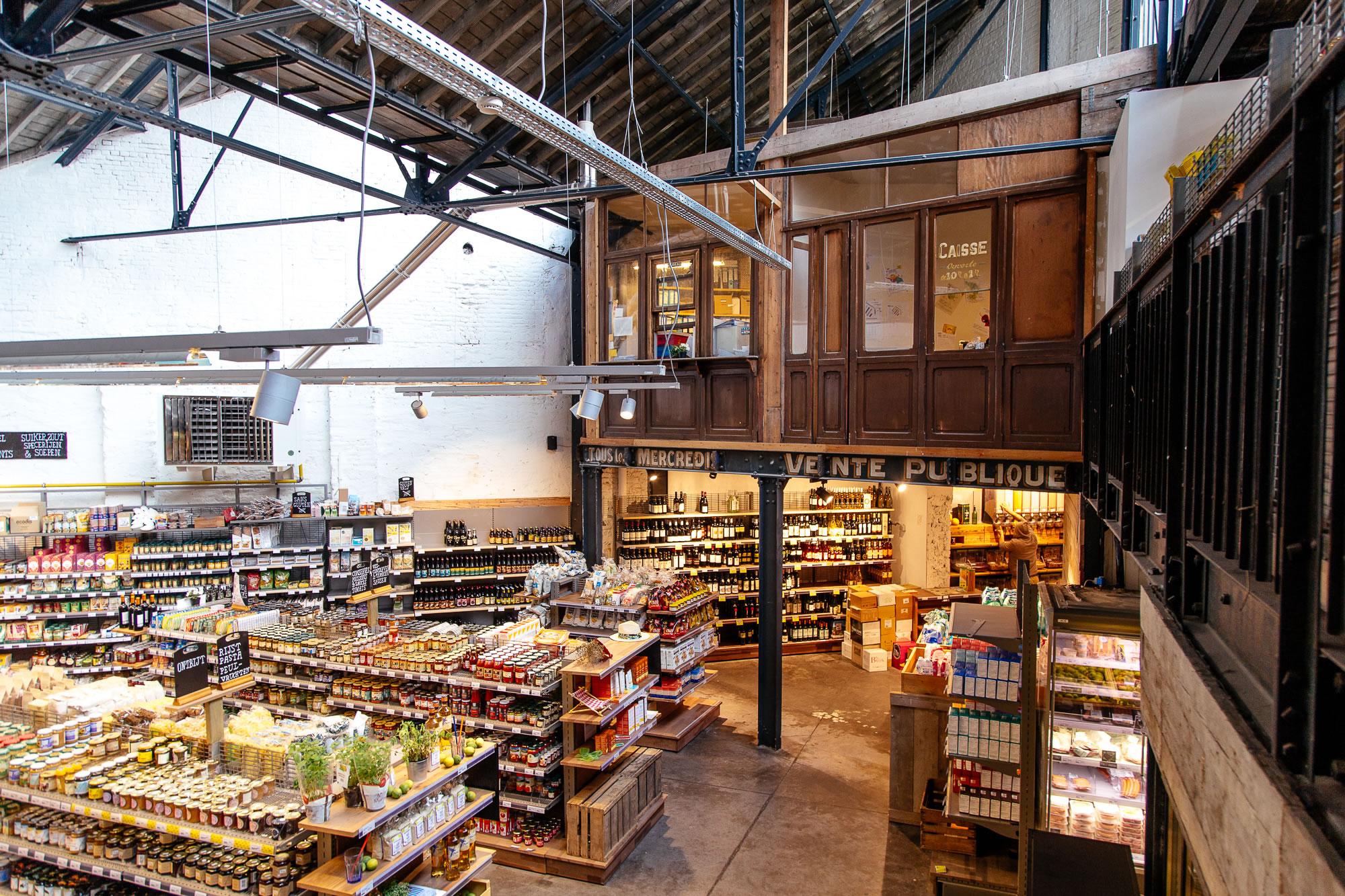 FÄRM Coop : Plateforme logistique bruxelloise de produits locaux et bios