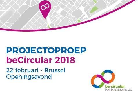 Opening van de kandidaturen voor Be Circular 2018
