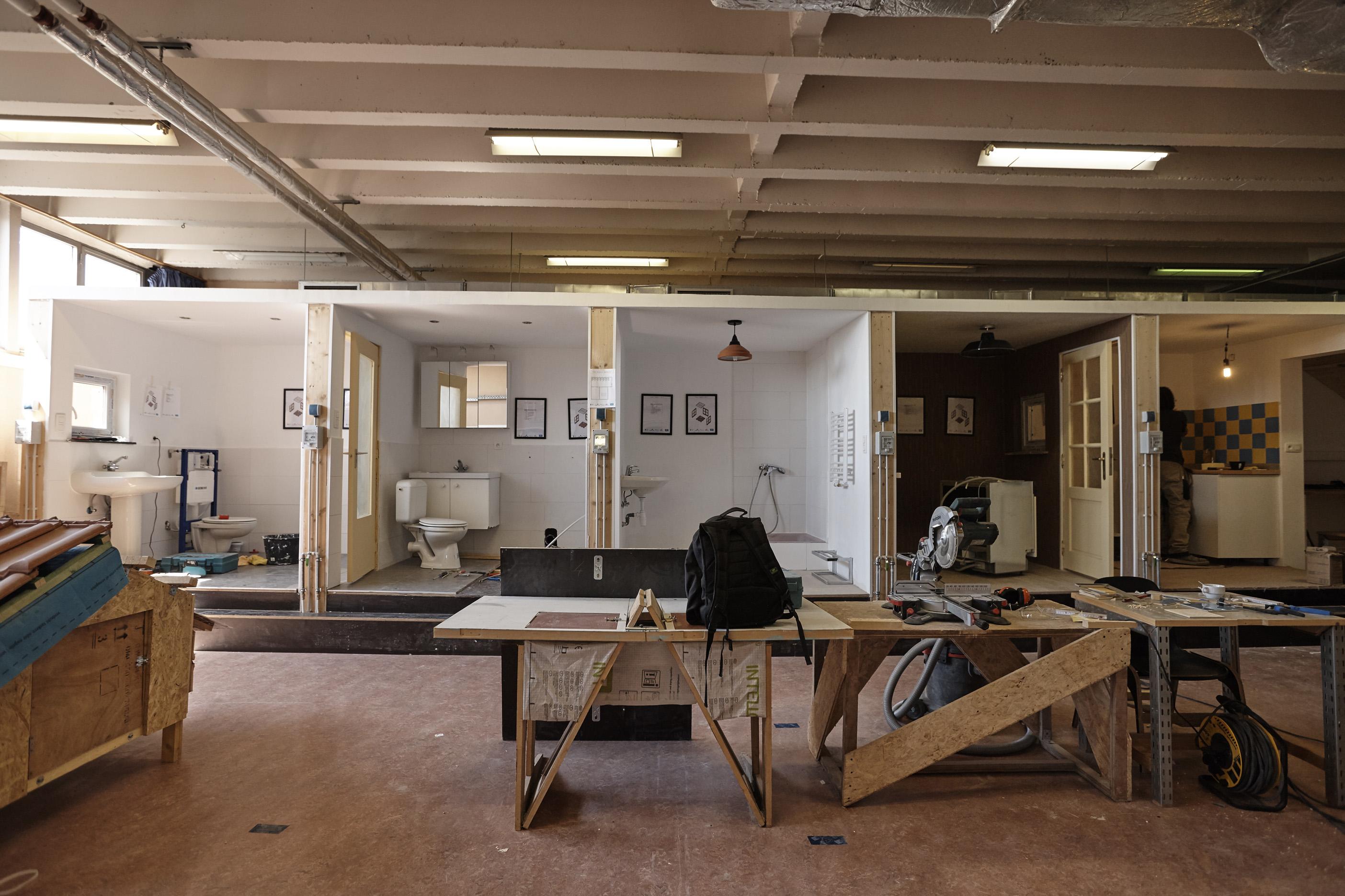 Het BRC Bouw opent een centrum voor het hergebruik van bouwmaterialen