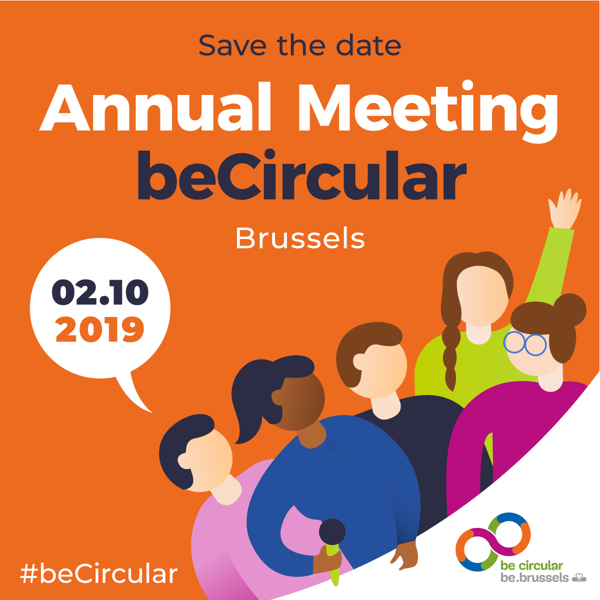SAVE THE DATE – #beCircular Annual Meeting 2019