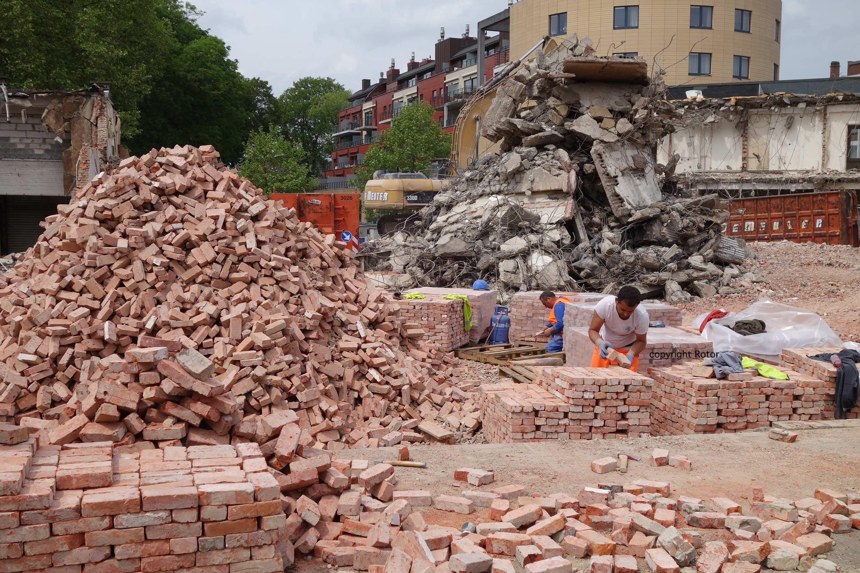 Wordt het hergebruik van bouwelementen binnenkort de norm in Europa?