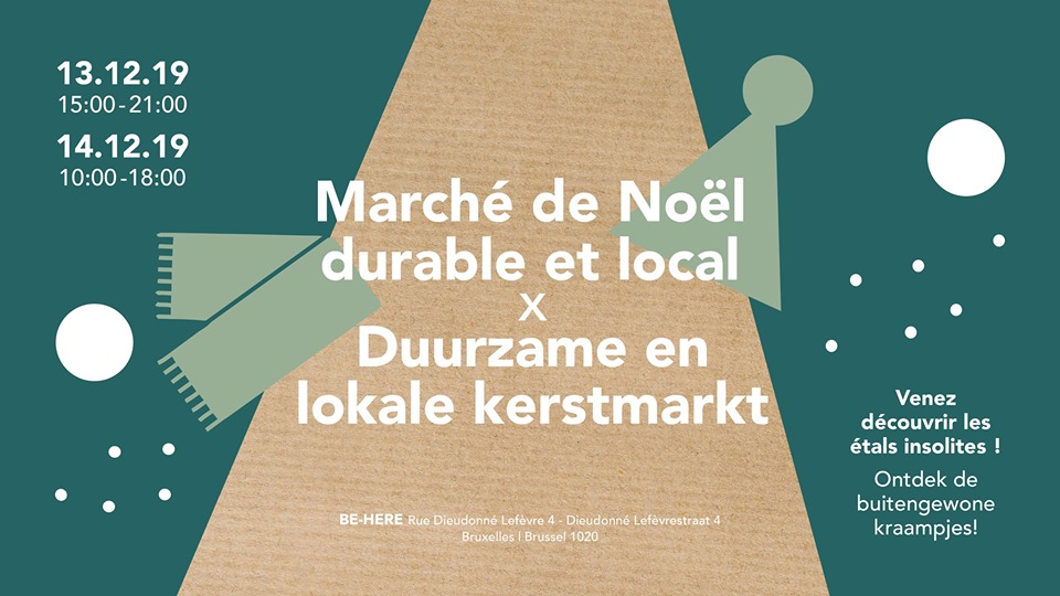 Marché de noël durable et local