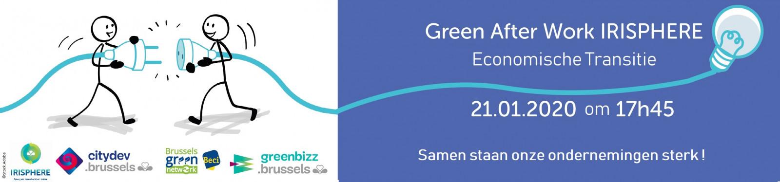 Green After Work Beci x Irisphere: Economische Transitie
