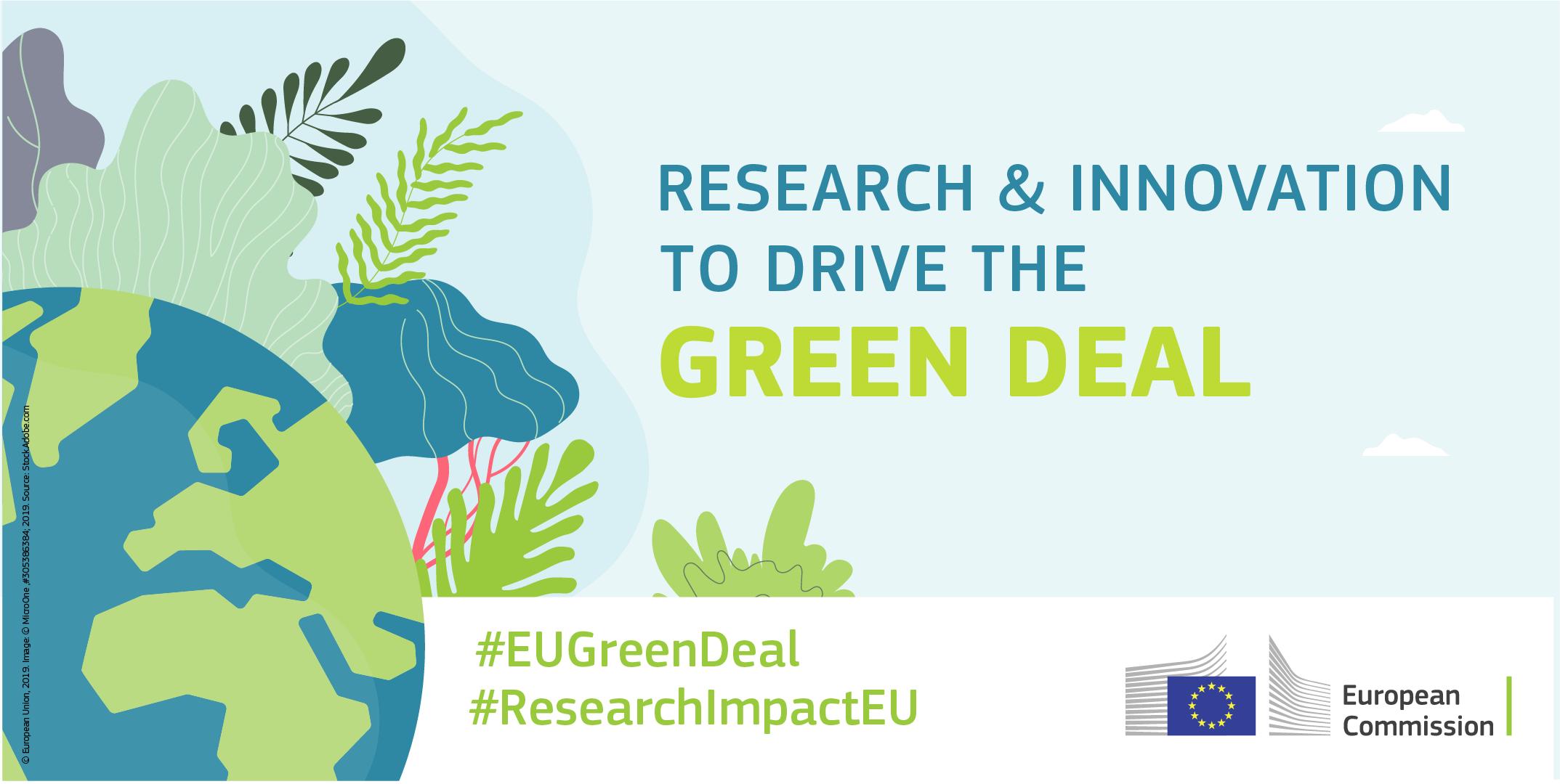 Appel à Projets EU Green Deal – 1 milliard d'euros pour stimuler la transition verte et numérique