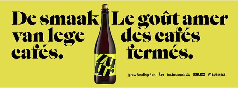 ZUUR, het bier dat de Brusselse cafés te hulp komt
