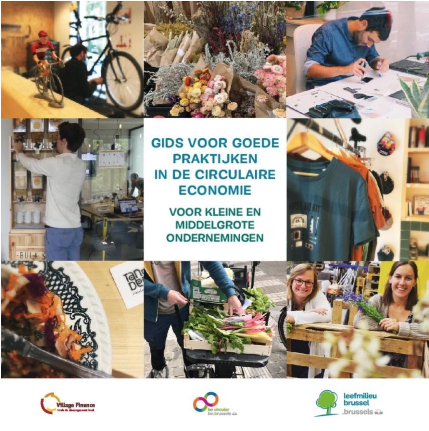 Gids van Village Finance voor goede praktijken in de circulaire economie