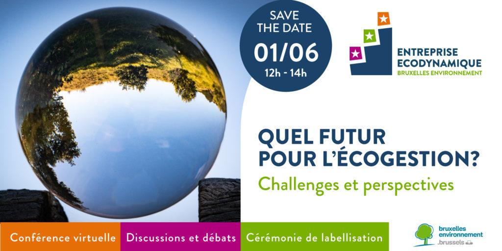 Conférence – Quel futur pour l'écogestion ? Challenges et perspectives