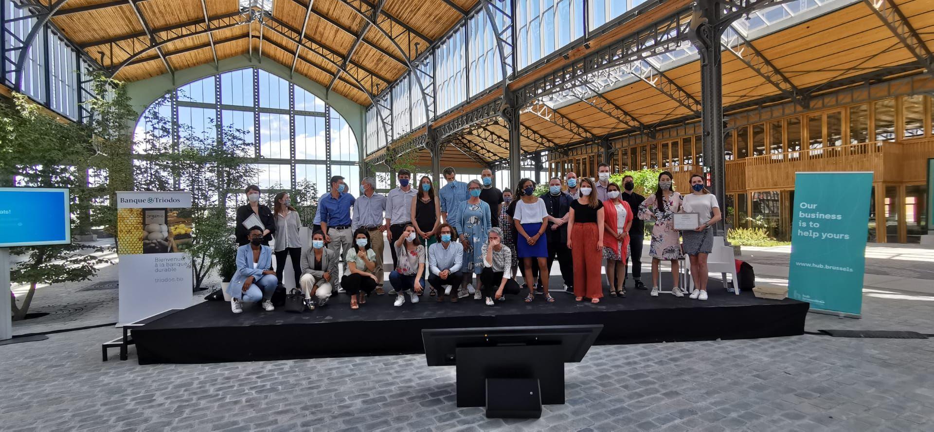 De winnaars van de 10e editie van greenlab.brussels zijn gekend!