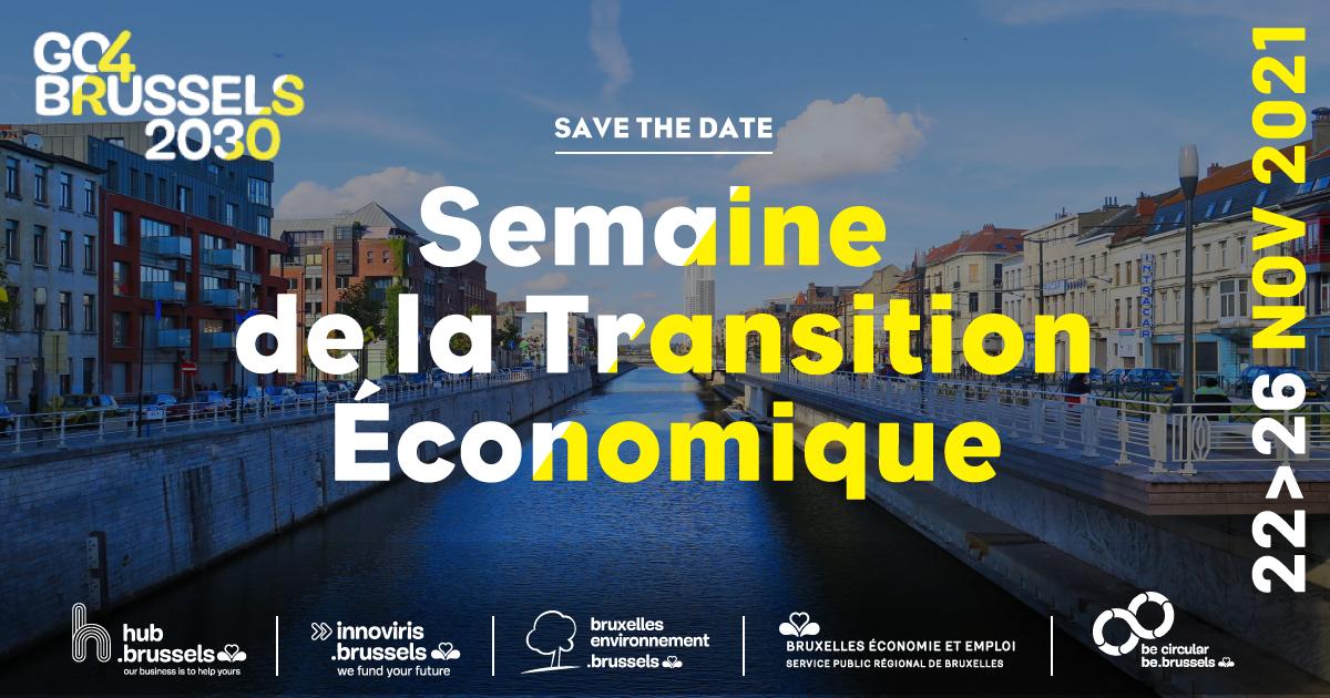 SAVE THE DATE – Semaine de la Transition Économique