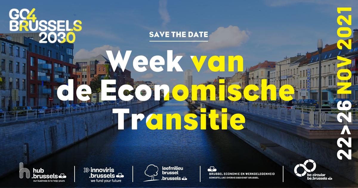 SAVE THE DATE – Week van de economische transitie
